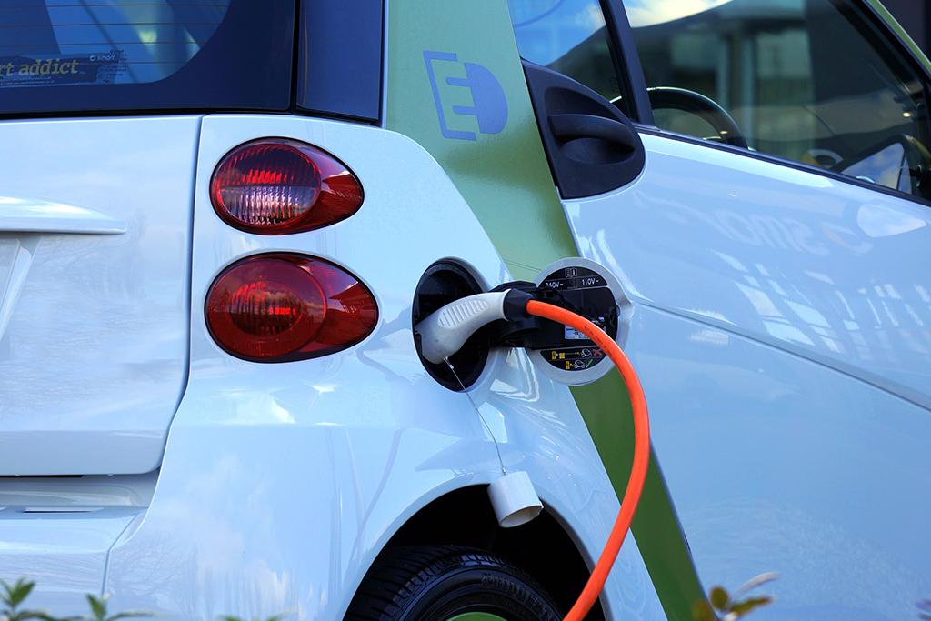 Image of charging car